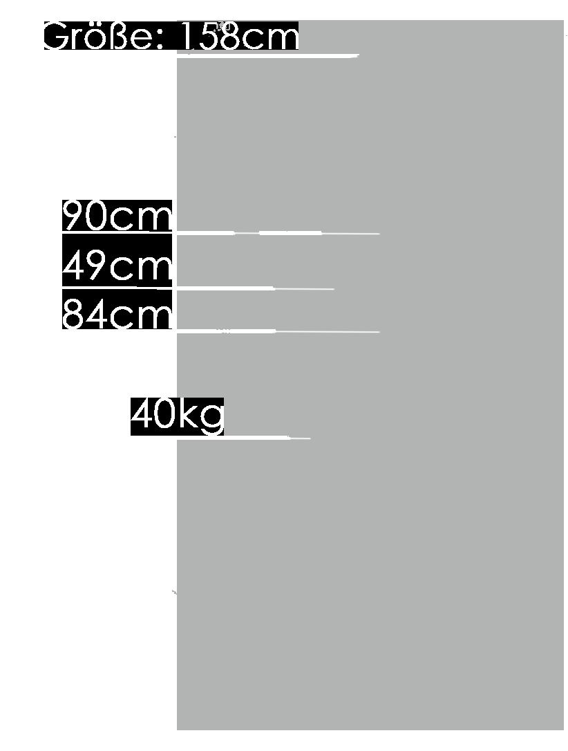 158cm-Beine-abnehmbar